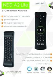 MINIX NEO A2 Lite Wireless Air Mouse